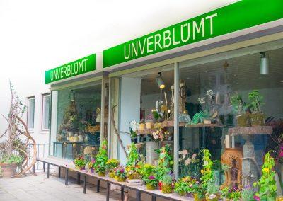 UNVERBLÜMT Strasser der Blumenladen in Garmisch-Partenkirchen