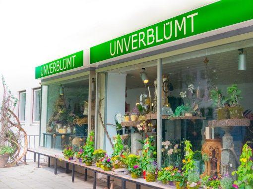 Der Blumenladen in Garmisch-Partenkirchen