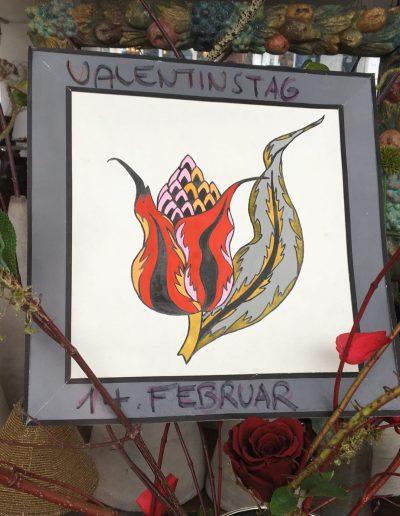 UNVERBLÜMT Strasser Valentinstag Blumen Sträusse Garmisch-Partenkirchen